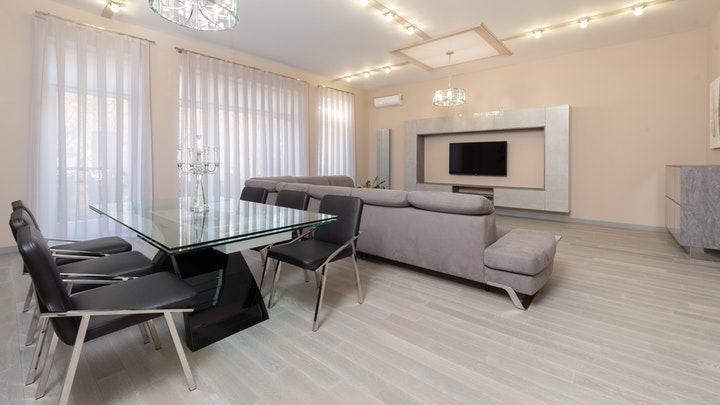 zarif-dekorasyonlu oturma odası