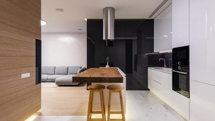 yarımada-mutfaklı masa