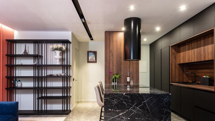 mutfak-dekorasyon-koyu tonlarda