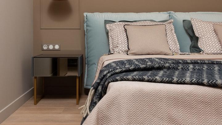 yatakta tekstil