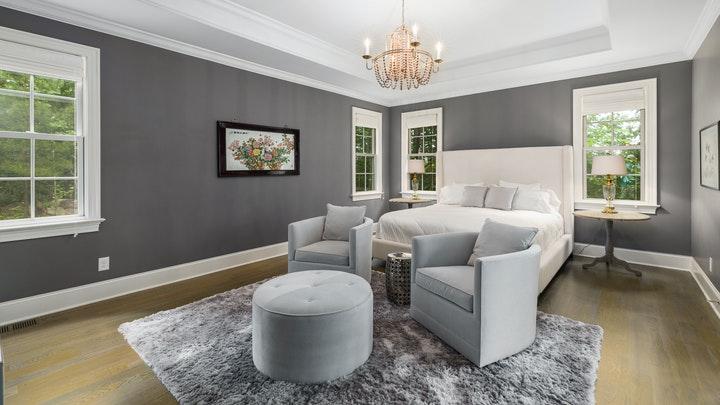 oturma alanlı yatak odası
