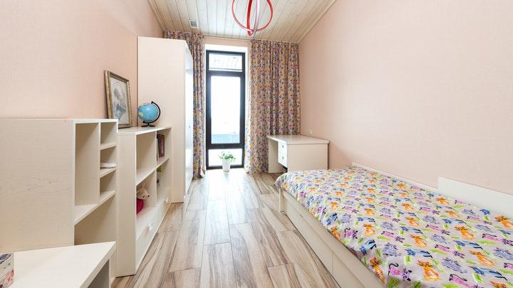raflı yatak odası