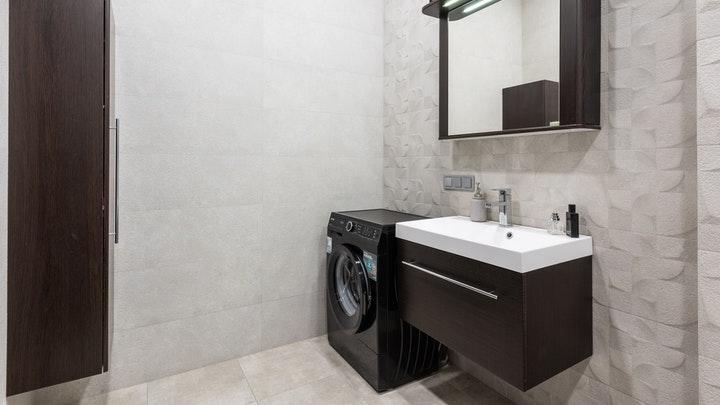 banyo-dekorasyon-çamaşır makinesi