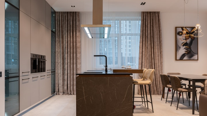 dikdörtgen ve genişletilebilir mutfak masası
