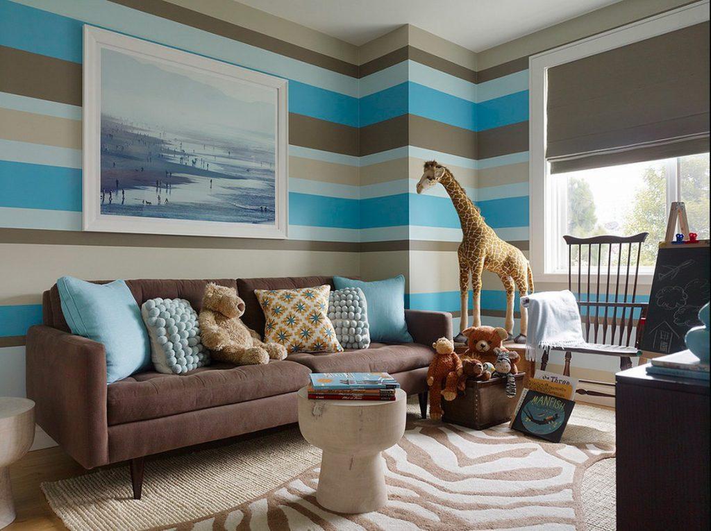 Çocuğun odası için renk şeması