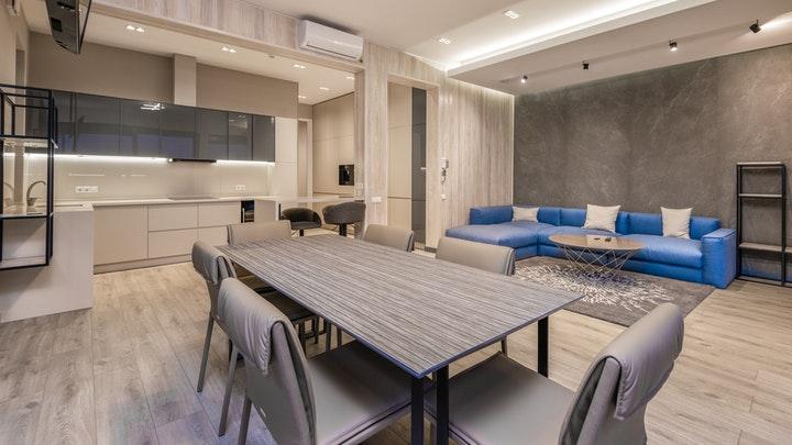 mutfak-oturma odası-yemek odası