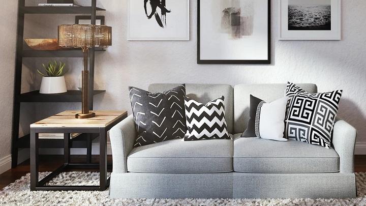 kanepe-ve-resimli oturma odası
