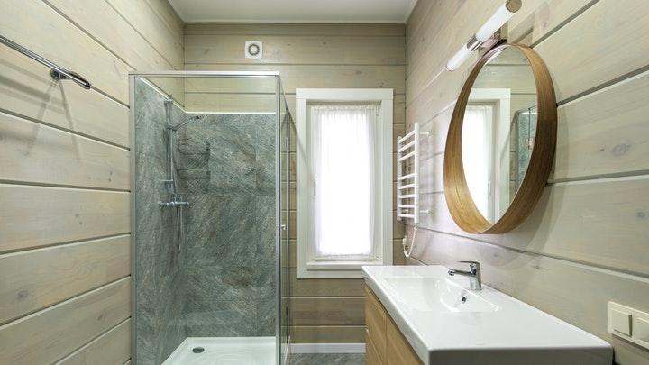 duşlu banyo