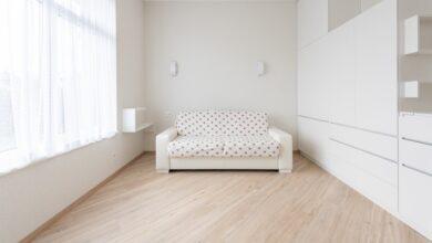 beyaz mobilya
